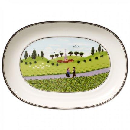 Platou Villeroy & Boch Design Naif Pickle dish 20 cm