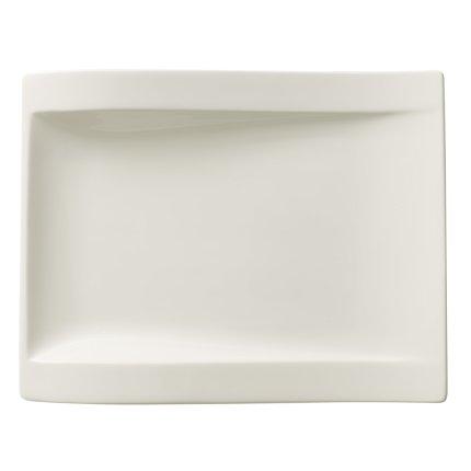Farfurie rectangulara Villeroy & Boch NewWave Salad 26x20cm