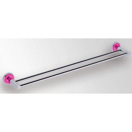 Port prosop dublu Bemeta Trend-i 655 x 52 x 110 mm ornament roz