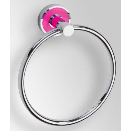 Inel port-prosop Bemeta Trend-i ornament roz