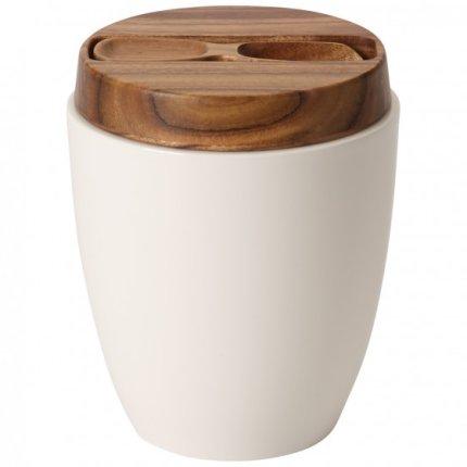 Recipient ceai cu capac si lingurita Villeroy & Boch Artesano Original