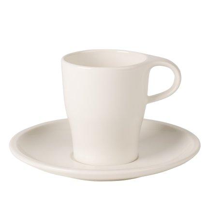 Ceasca si farfuriuta espresso dublu Villeroy & Boch Coffee Passion 0.18 litri