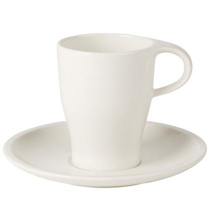 Ceasca si farfuriuta pentru cafea Villeroy & Boch Coffee Passion 0.22 litri