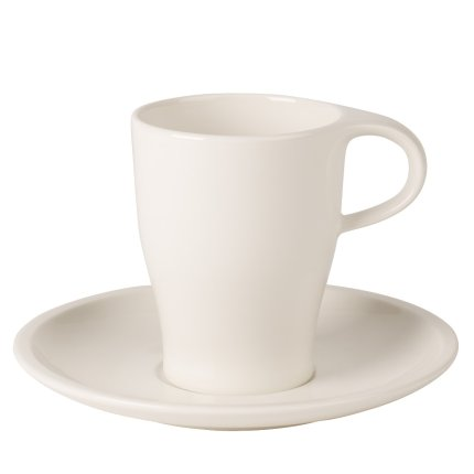 Cana si farfuriuta pentru cafea Villeroy & Boch Coffee Passion 0.38 litri
