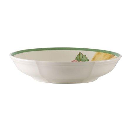 Bol plat Villeroy & Boch French Garden Modern Fruits Salad Lemon 23.5x23.5x5cm