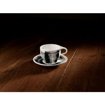 Ceasca si farfuriuta cafea cu lapte Villeroy & Boch Coffee Passion Awake 0,35 litri