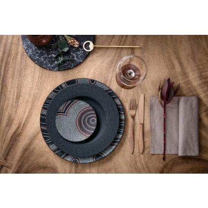 Farfurie plata Villeroy & Boch Manufacture Rock 27cm