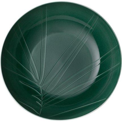 Bol Villeroy & Boch it's my match green Leaf 26x6.5cm