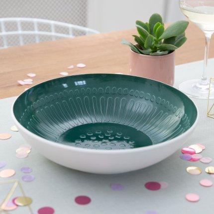 Bol Villeroy & Boch it's my match green Blossom 26x6.5cm
