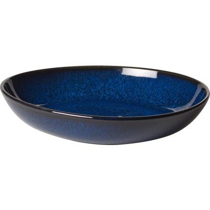 Bol plat Villeroy & Boch Lave Bleu 22cm