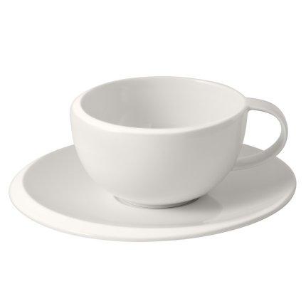Ceasca si farfuriuta cafea Villeroy & Boch New Moon 0.29 litri