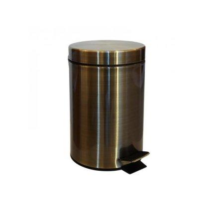 Cos cu pedala Bemeta Retro 1, 3 litri, bronz