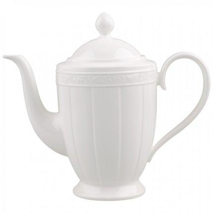 Vas servire cafea Villeroy & Boch White Pearl 1.35 litri