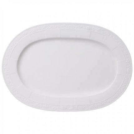 Platou oval Villeroy & Boch White Pearl 35cm