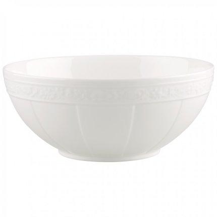 Bol salata Villeroy & Boch White Pearl 31cm