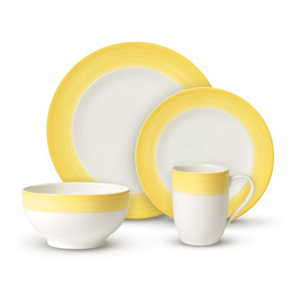 Set Villeroy & Boch Colourful Life Lemon Pie For Me & You 8 piese