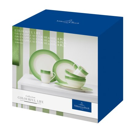 Set Villeroy & Boch Colourful Life Green Apple For Me & You 8 piese