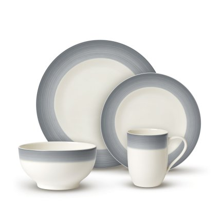 Set Villeroy & Boch Colourful Life Cosy Grey For Me & You 8 piese