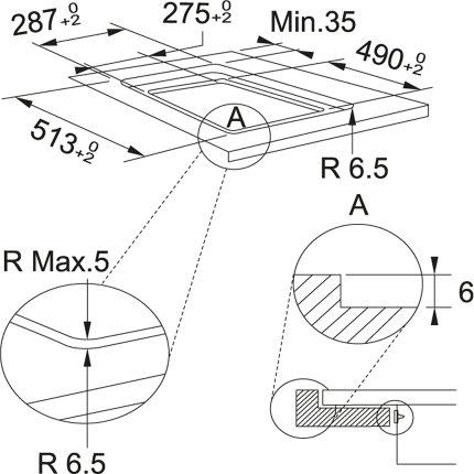 Plita inductie incorporabila Franke Smart FSM 302 I BK, 2 zone, 30cm, Nero