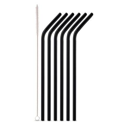 Set 6 paie de sticla Karl Weis 10969, 24cm, negru
