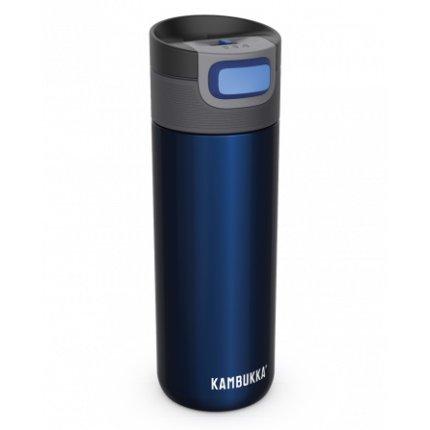 Cana termos Kambukka Etna cu capac 3 in 1 Snapclean, inox, 500 ml, Midnight