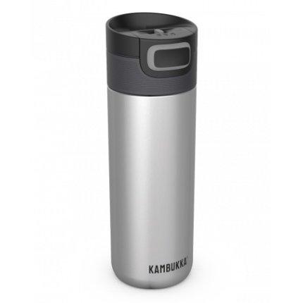Cana termos Kambukka Etna cu capac 3 in 1 Snapclean, inox, 500 ml, Silver