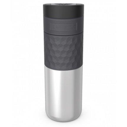 Cana termos Kambukka Etna Grip cu capac 3 in 1 Snapclean, inox, 500 ml, Stainless Steel
