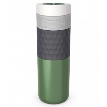 Cana termos Kambukka Etna Grip cu capac 3 in 1 Snapclean, inox, 500 ml, Seagreen