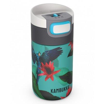 Cana termos Kambukka Etna cu capac 3 in 1 Snapclean, inox, 300ml, Parrots