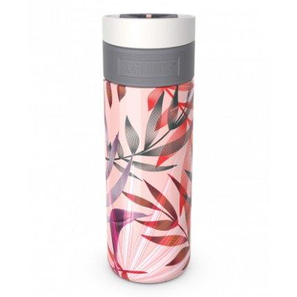 Cana termos Kambukka Etna cu capac 3 in 1 Snapclean, inox, 500 ml, Trumpet Flower