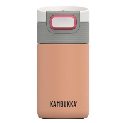 Cana termos Kambukka Etna cu capac 3 in 1 Snapclean, inox, 300ml, Cantaloupe