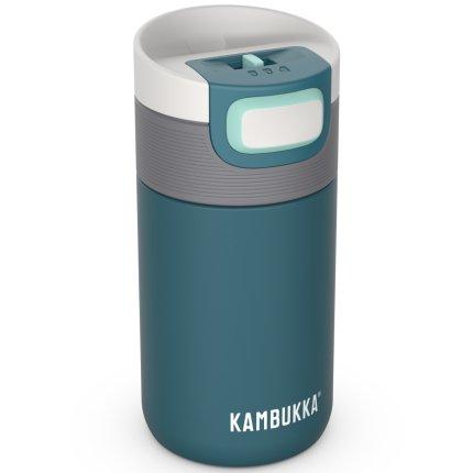Cana termos Kambukka Etna cu capac 3 in 1 Snapclean, inox, 300ml, Deep Teal