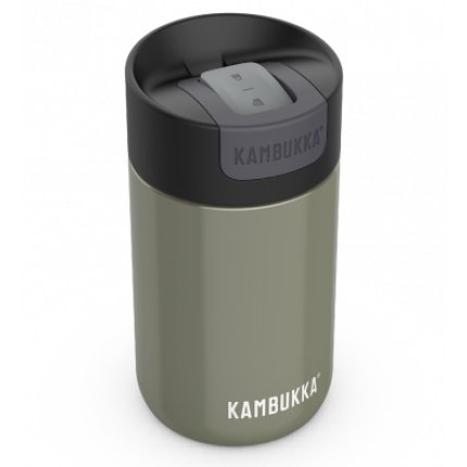 Cana termos Kambukka Olympus cu capac Switch, inox, 300ml, Champaign