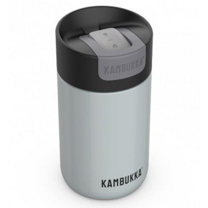 Cana termos Kambukka Olympus cu capac Switch, inox, 300ml, Polar