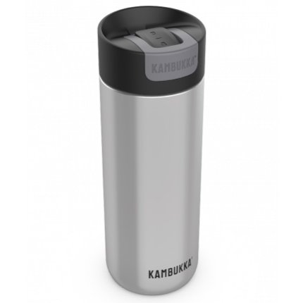 Cana termos Kambukka Olympus cu capac Switch, inox, 500ml, Stainless steel