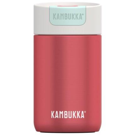 Cana termos Kambukka Olympus cu capac Switch, inox, 300ml, Cherry Cake