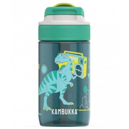 Sticla Kambukka Lagoon cu capac Spout, Tritan, 400 ml, Urban Dino