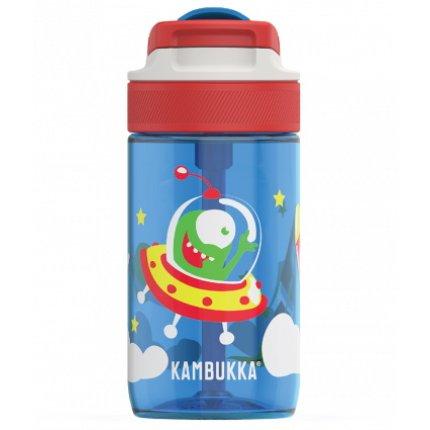 Sticla Kambukka Lagoon cu capac Spout, Tritan, 400 ml, Happy Alien