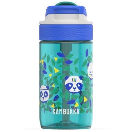 Sticla Kambukka Lagoon cu capac Spout, Tritan, 400 ml, Chief Panda