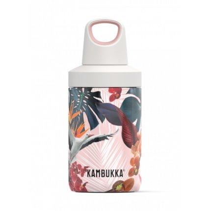 Sticla termos Kambukka Reno cu capac Twist, inox, 300 ml, Orchids