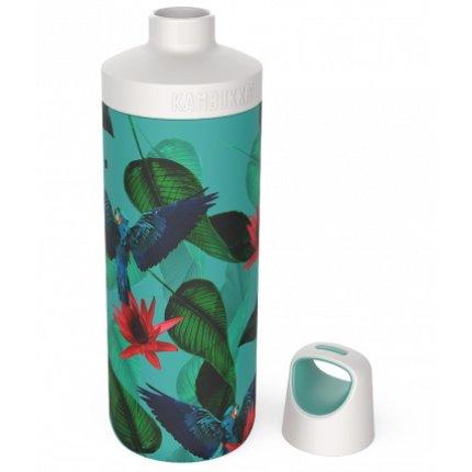 Sticla termos Kambukka Reno cu capac Twist, inox, 500 ml, Parrots