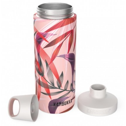 Sticla termos Kambukka Reno cu capac Twist, inox, 500 ml, Trumpet Flower