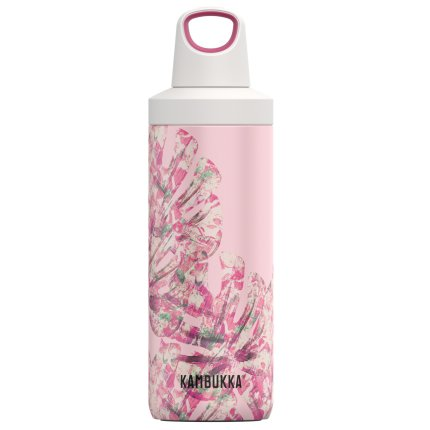 Sticla termos Kambukka Reno cu capac Twist, inox, 500 ml, Monstera Leaves