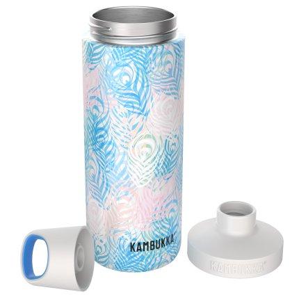 Sticla termos Kambukka Reno cu capac Twist, inox, 500 ml, Peacock