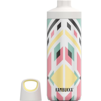 Sticla termos Kambukka Reno cu capac Twist, inox, 500 ml, Tribal Shibori