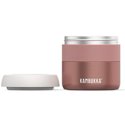 Termos cu capac Kambukka Bora, inox, 400ml, Misty Rose