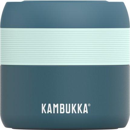 Termos cu capac Kambukka Bora, inox, 400ml, Deep Teal