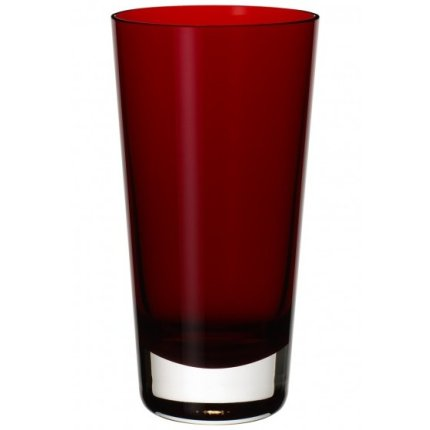 Pahar apa Villeroy & Boch Colour Concept Highball tumbler red, 160mm, 0.42 litri