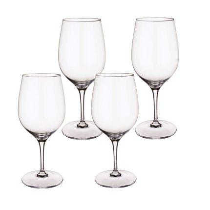 Set 4 pahare vin rosu Villeroy & Boch Entree Goblet 198mm, 0,48 litri