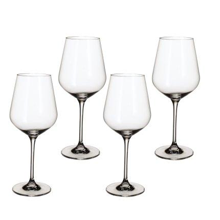 Set 4 pahare vin rosu Villeroy & Boch La Divina Bordeaux Goblet 252mm, 0,65 litri